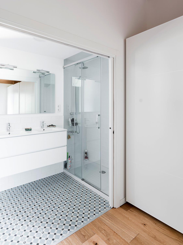 BUD Arquitectura Casas sanas Casa Roots sostenible ecoeficiente, climatización sana sostenible, casa de madera prefabricada, interiorismo, vivir, construir, sostenible, baño