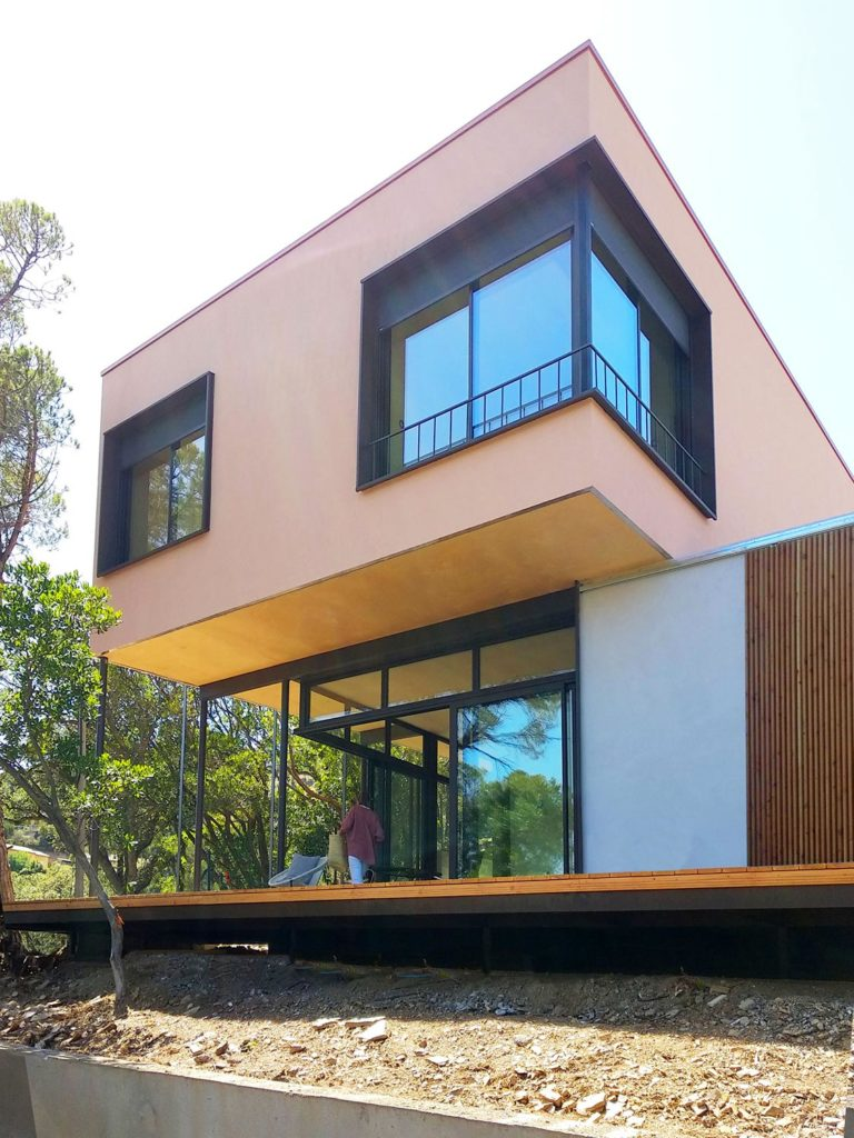 BUD Arquitectura, Casas sana. Casa Gaia. Casa sostenible, ecoeficiente. Climatización sana sostenible, hogar ecológico y saludable