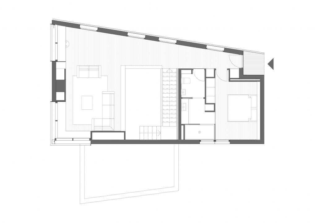 BUD Arquitectura - Casas sanas. Casa Gaia. Casa sostenible, ecoeficiente de madera, planta alta