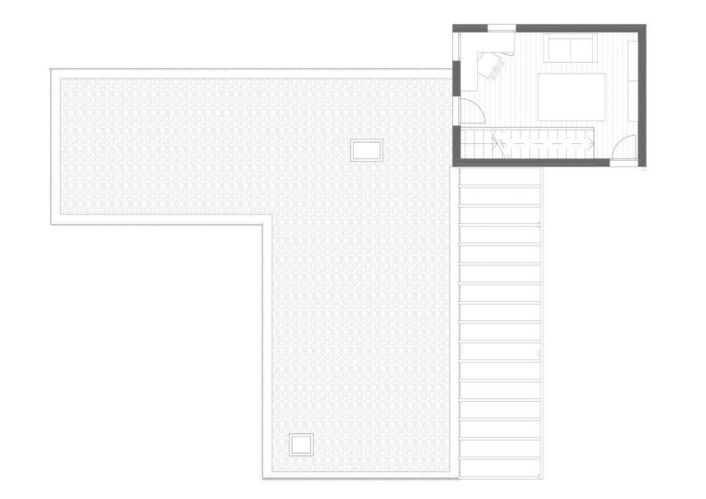 BUD Arquitectura - Casas sanas. Casa Papallones. Casa sostenible, ecoeficiente de madera, planta baja