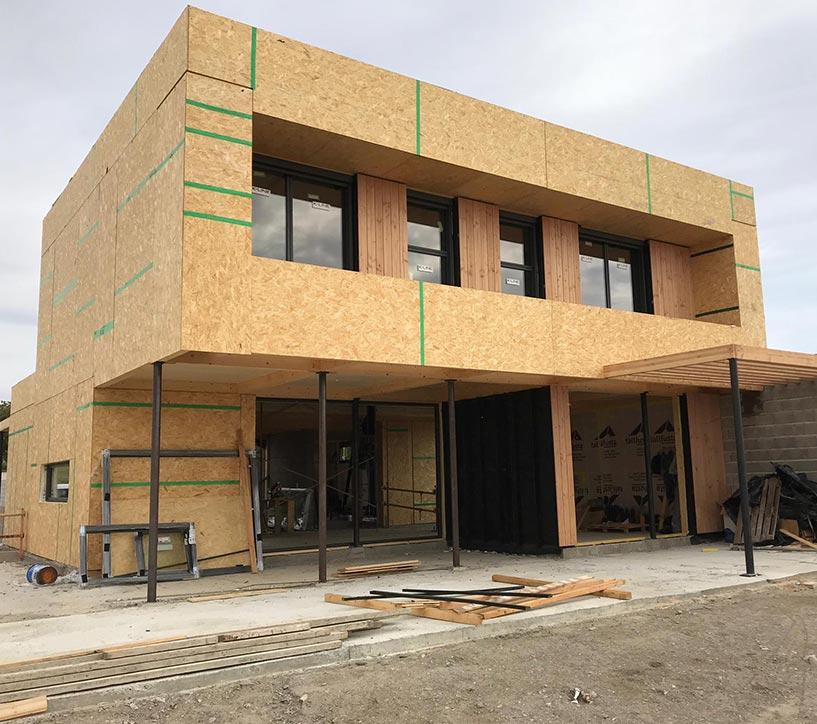 BUD Arquitectura, casas sanas, Construcción